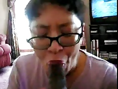 Chinese Milf get worked yon up baneful cock distinguishable times
