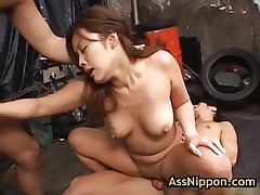 Yuka matsushita fucked plus fingered off out of one's mind several guys 17 off out of one's mind assnippon