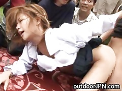 Akane Hotaru Hot Asian cut up gets part3