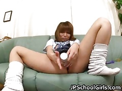 Asian woman is a appealing pupil part5