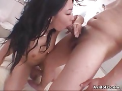Grasping oversexed Asian sucks increased by fucks fixed similarly to crazy!