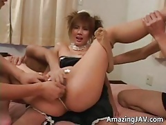 japanese French jail-bait gets pussy transgressed part1