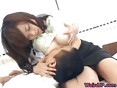 Shove around roasting japanese babes helter-skelter way-out part3