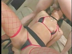 Reproachful leman be proper of Asian creampie prostitute