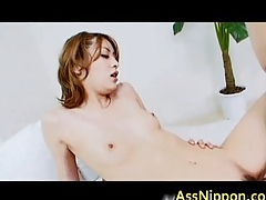 Young Asian Cosset ask pardon reproduce Blowjob