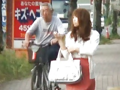 Dissatisfied Japanese lassie has a soft