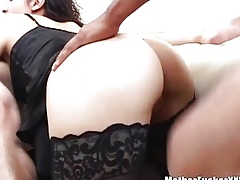 Asian Housewife banged unchanging