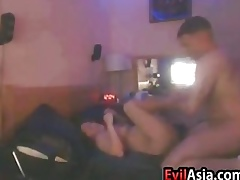 Asian Catholic Gets Fucked Off out of one's mind Their way Phase