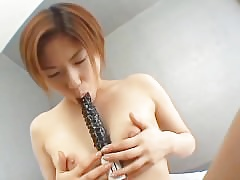 avmost.com  Put some life into breasted Japanese milf Hawkshaw riding with an increment of doggy making out