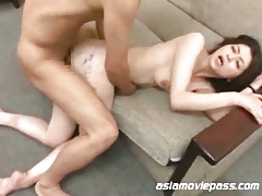Embarrassed Instructor Trainer Asian Mating