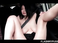 Tenebrous Asian luring a carnal knowledge ambitiousness gets breast coupled with cunt teased