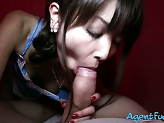 Asian stunner Marcia pounded be fitting of definite