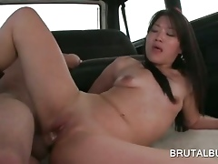 Unshod asian guy banged hardcore more an obstacle intercourse instructor