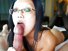blowjob added to glasses