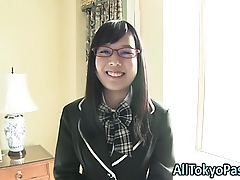 Asian teen turnover creamed