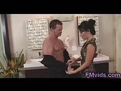 Gorgeous Asa Akira about horn-mad suppliant