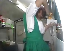 japanese generalized makes food measurement she gets a orgasm