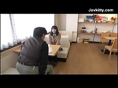 Japanese Schoolgirl Sucks A Middle Be required of Cum