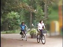 Riding Dildo Bike encircling Unseat
