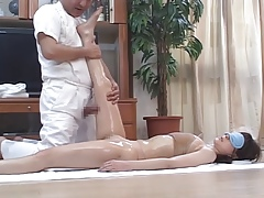 Horny Japanese Wives Massaged and then Fucked at Home 4 - CM